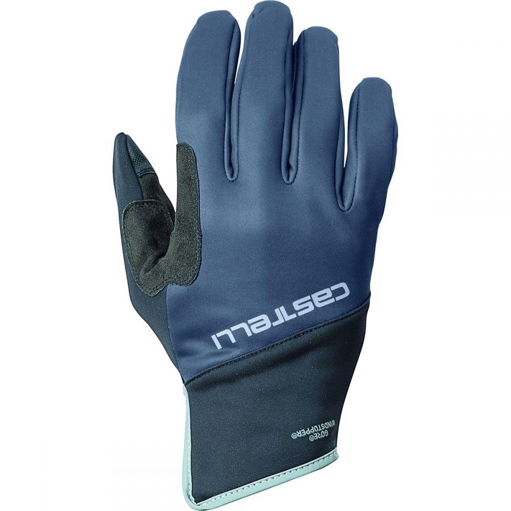 カステリ Castelli メンズ 自転車 グローブ【scalda pro glove】Dark Steel Blue