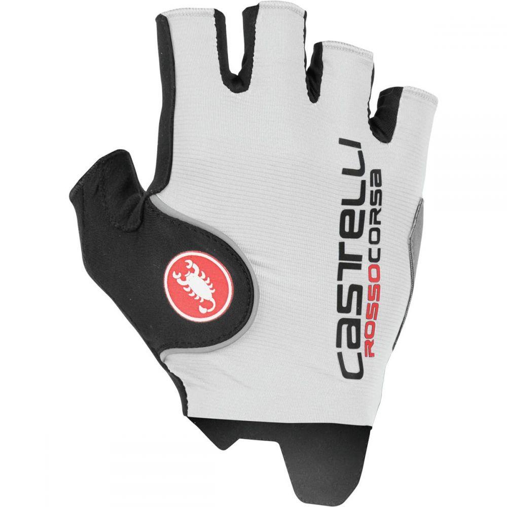 カステリ Castelli メンズ 自転車 グローブ【rosso corsa pro glove】White