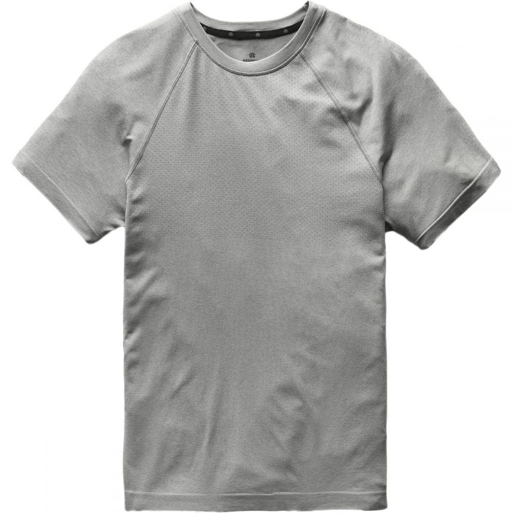 レイニングチャンプ Reigning Champ メンズ フィットネス・トレーニング トップス【training short - sleeve t - shirt】Heather Grey