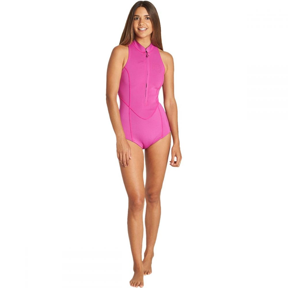ビラボン Billabong レディース ウェットスーツ ノースリーブ 水着・ビーチウェア【salty dayz sleeveless spring suit】Orchid Haze