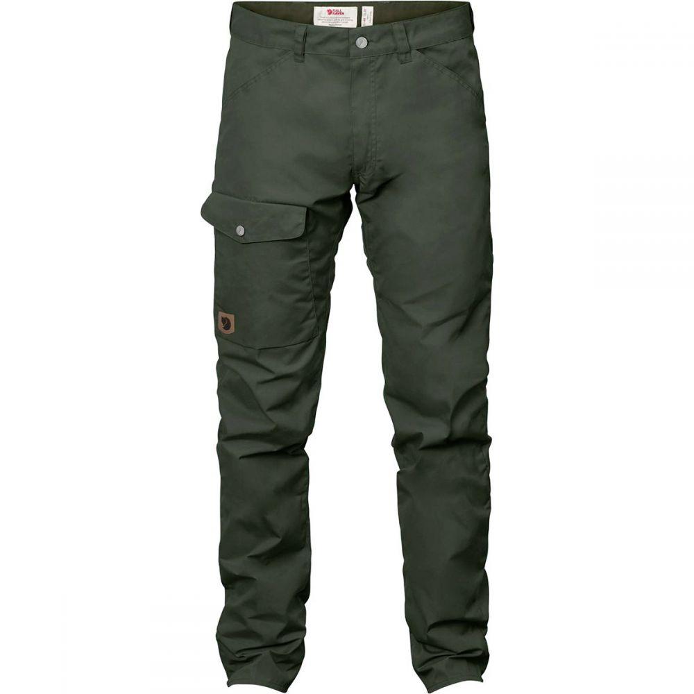 フェールラーベン Fjallraven メンズ ハイキング・登山 ジーンズ・デニム ボトムス・パンツ【greenland long jeans】Deep Forest
