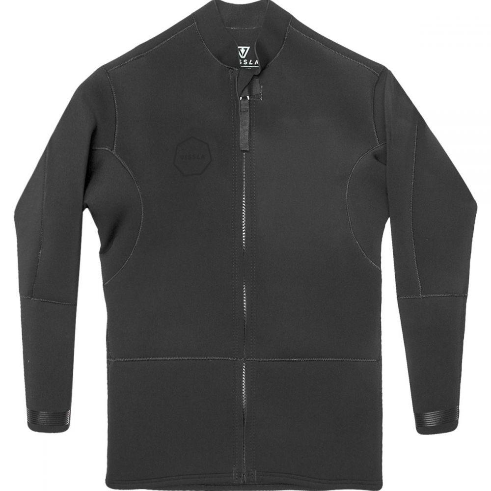 ヴィスラ Vissla メンズ ウェットスーツ ジャケット 水着・ビーチウェア【front zip 2mm jacket】Stealth