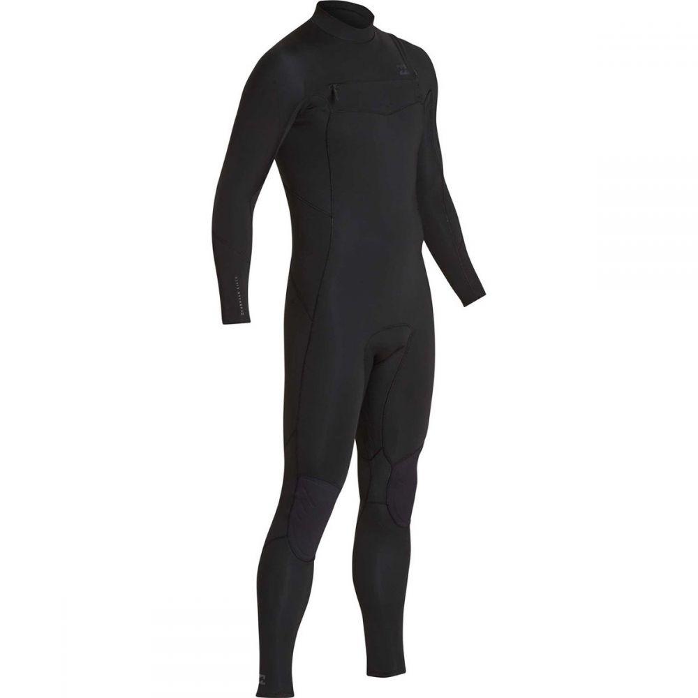 ビラボン Billabong メンズ ウェットスーツ フルスーツ 水着・ビーチウェア【4/3mm furnace absolute chest - zip gbs full wetsuit】Black