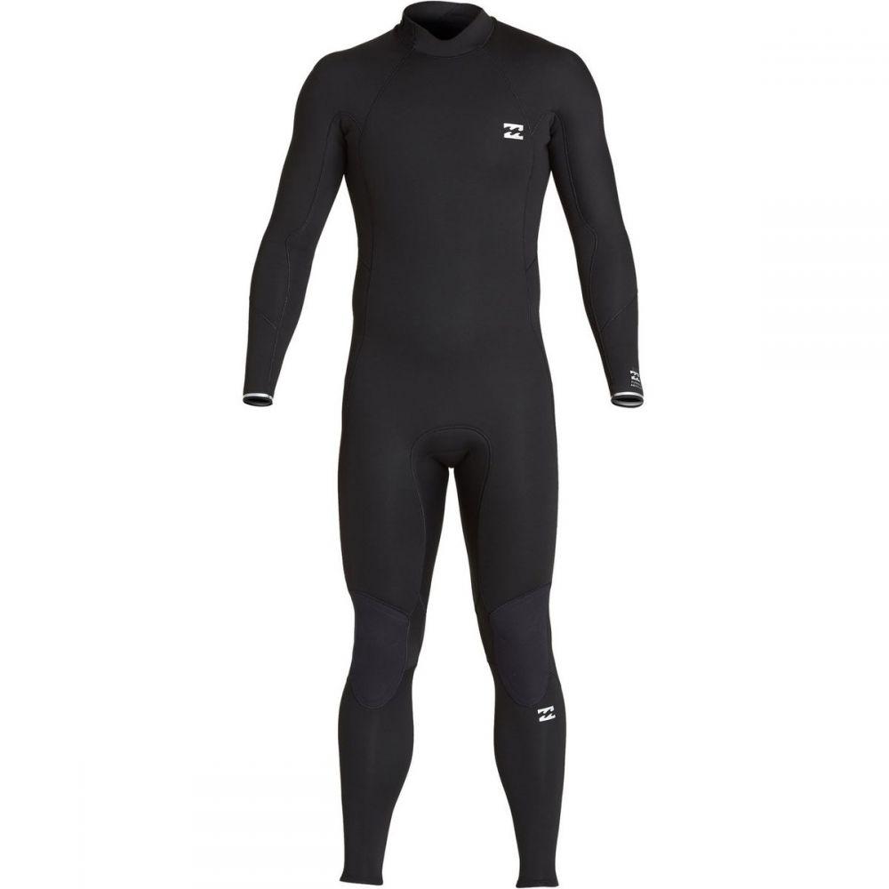 ビラボン Billabong メンズ ウェットスーツ フルスーツ 水着・ビーチウェア【4/3mm furnace absolute back - zip full wetsuit】Black