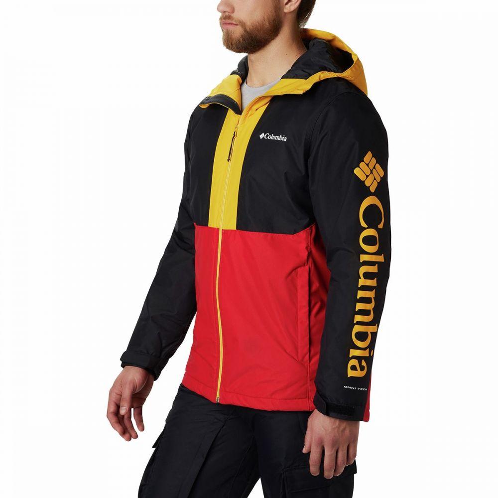 コロンビア Columbia メンズ スキー・スノーボード ジャケット アウター【timberturner jacket】Mountain Red/Black