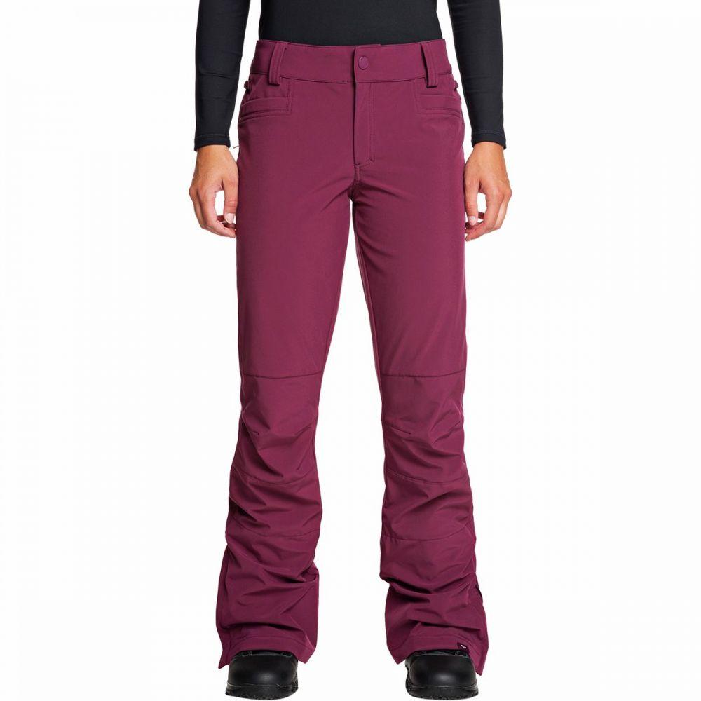 ロキシー Roxy レディース スキー・スノーボード ソフトシェル ボトムス・パンツ【creek softshell pant】Grape Wine