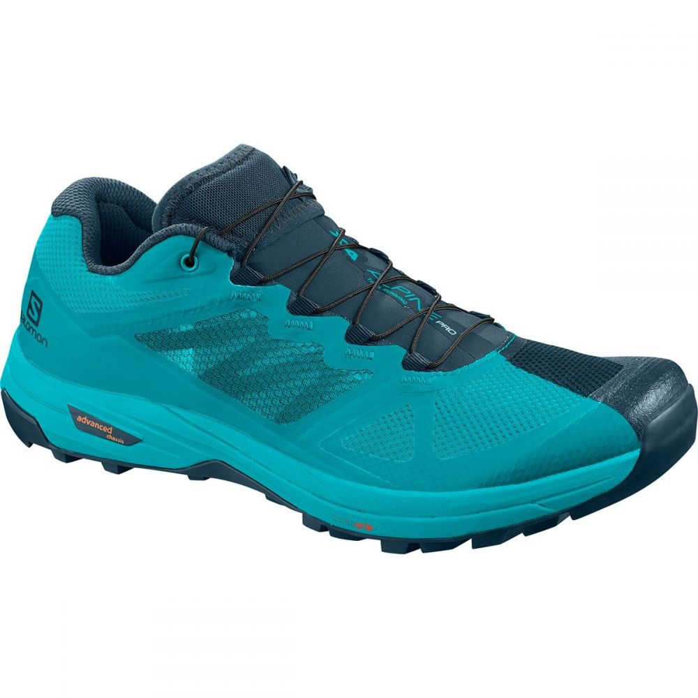 サロモン Salomon レディース ランニング・ウォーキング シューズ・靴【x alpine pro trail running shoe】Reflecting Pond/Tile Blue/Tile Blue