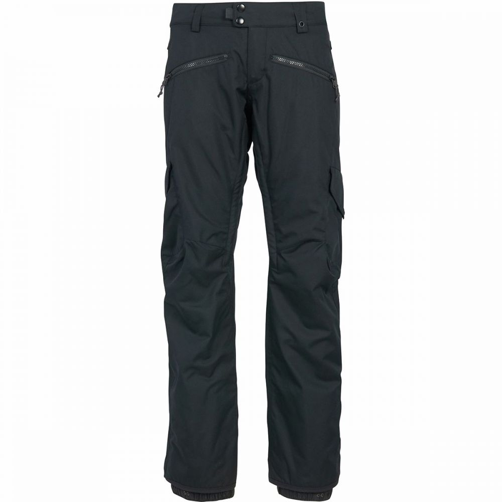 シックス エイト シックス 686 レディース スキー・スノーボード カーゴ ボトムス・パンツ【mistress cargo insulated pant】Black