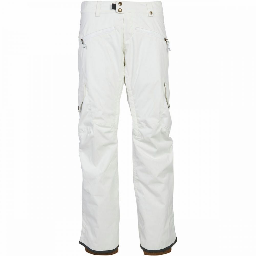シックス エイト シックス 686 レディース スキー・スノーボード カーゴ ボトムス・パンツ【mistress cargo insulated pant】White
