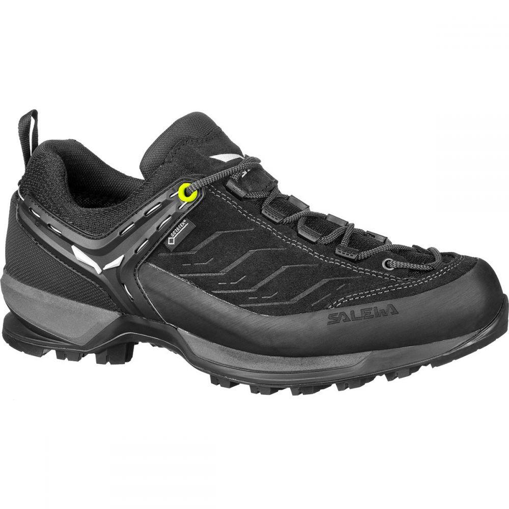 サレワ Salewa メンズ ハイキング・登山 シューズ・靴【mountain trainer gtx hiking shoe】Black/Black