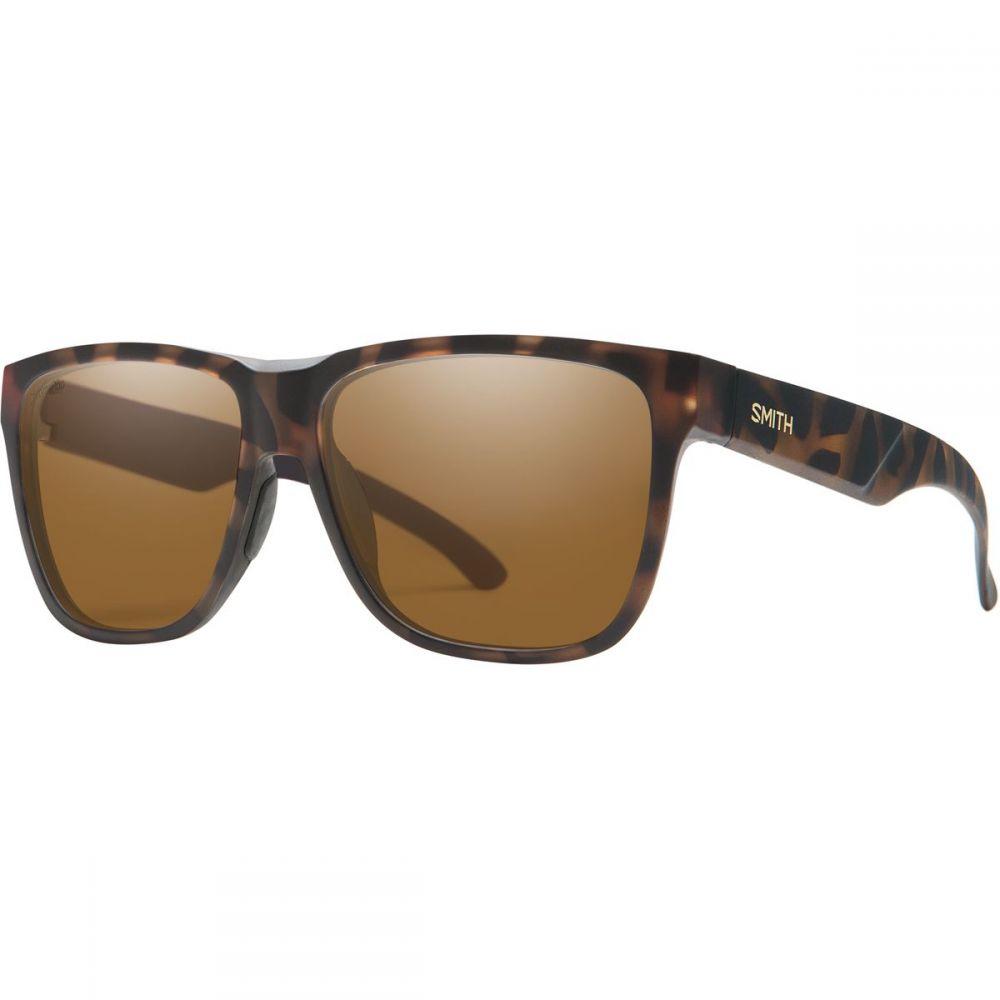 スミス Smith メンズ メガネ・サングラス 【lowdown xl 2 chromapop polarized sunglasses】Matte Havana/Polarized Brown