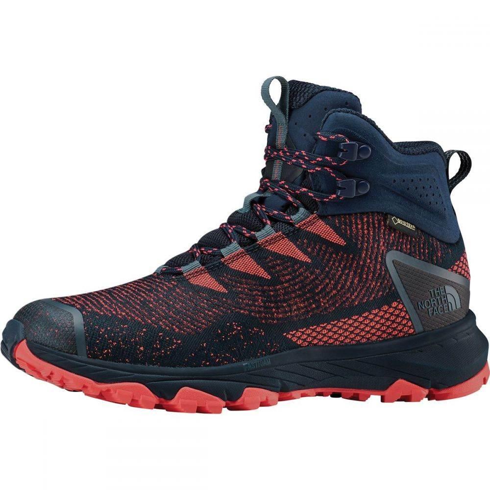 ザ ノースフェイス The North Face レディース ハイキング・登山 ブーツ シューズ・靴【ultra fastpack iii mid gtx woven hiking boot】Peacoat Navy/Fiesta Red