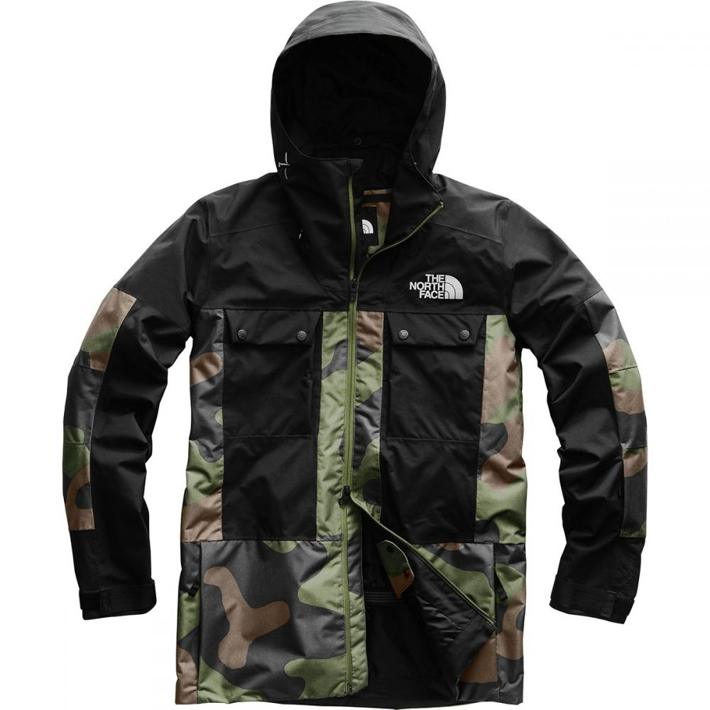 ザ ノースフェイス The North Face メンズ スキー・スノーボード ジャケット アウター【balfron jacket】Four Leaf Clover Terra Camo Print/Tnf Black