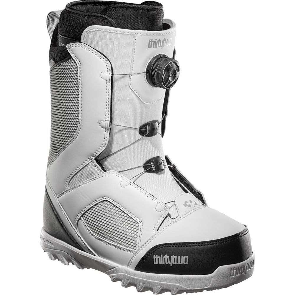 サーティーツー ThirtyTwo メンズ スキー・スノーボード ブーツ シューズ・靴【stw boa snowboard boot】White/Black/Grey