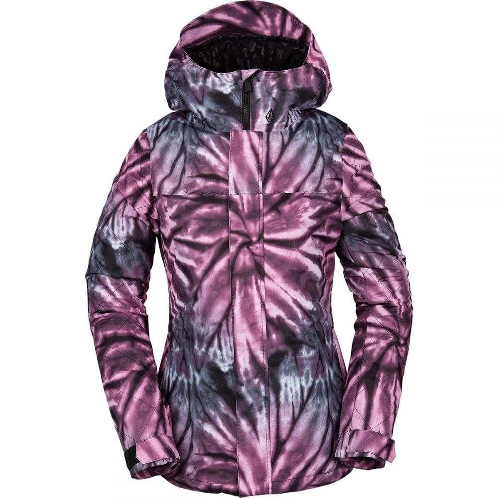 ボルコム Volcom レディース スキー・スノーボード ジャケット アウター【bolt insulated jacket】Purple