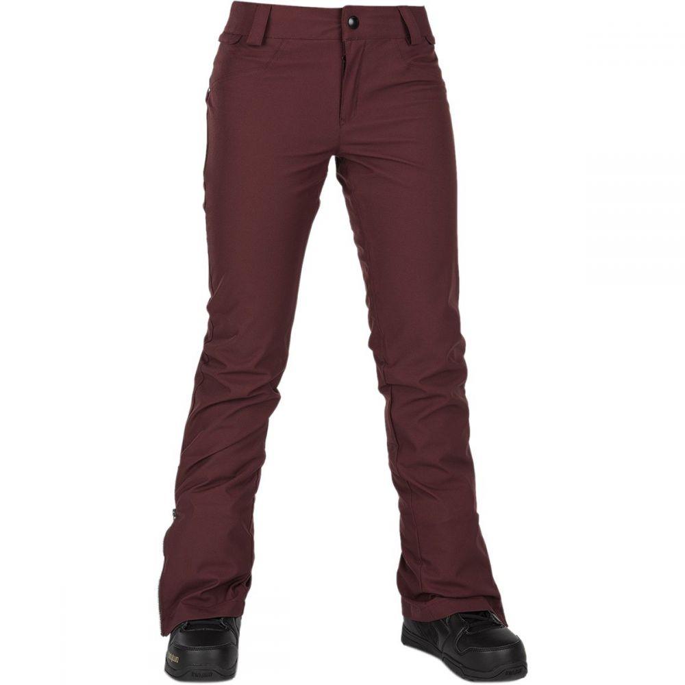ボルコム Volcom レディース スキー・スノーボード ボトムス・パンツ【battle stretch pant】Scarlet