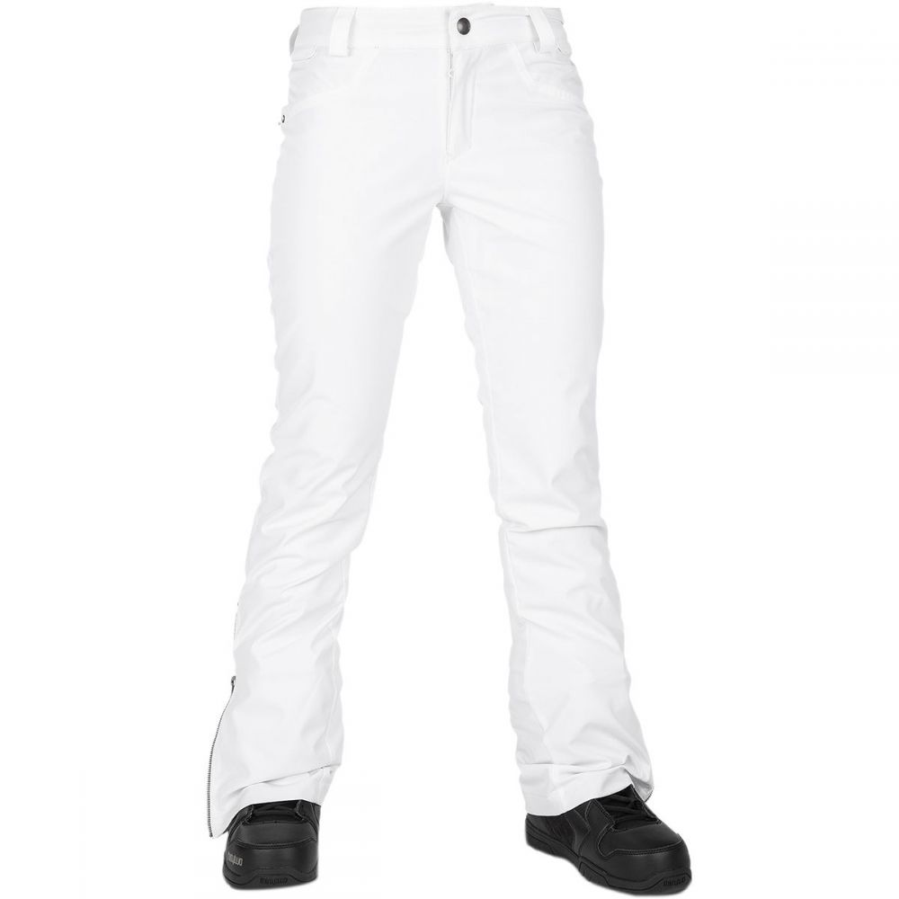 ボルコム Volcom レディース スキー・スノーボード ボトムス・パンツ【battle stretch pant】White