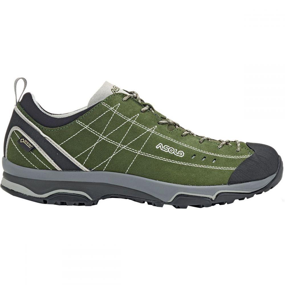 アゾロ Asolo メンズ ハイキング・登山 シューズ・靴【nucleon gv hiking shoe】Rifle Green/Silver