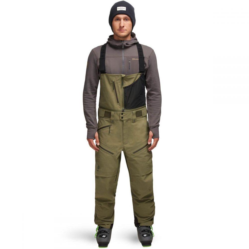 バックカントリー Backcountry メンズ スキー・スノーボード ビブパンツ ボトムス・パンツ【cottonwoods gore - tex bib pant】Deep Lichen