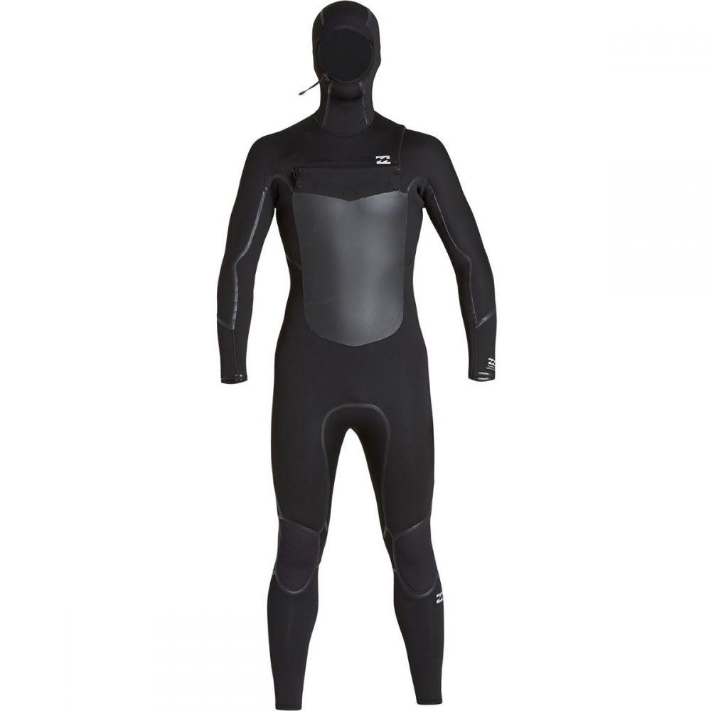 ビラボン Billabong メンズ ウェットスーツ 水着・ビーチウェア【5/4mm furnace absolute x chest - zip hooded wetsuit】Black