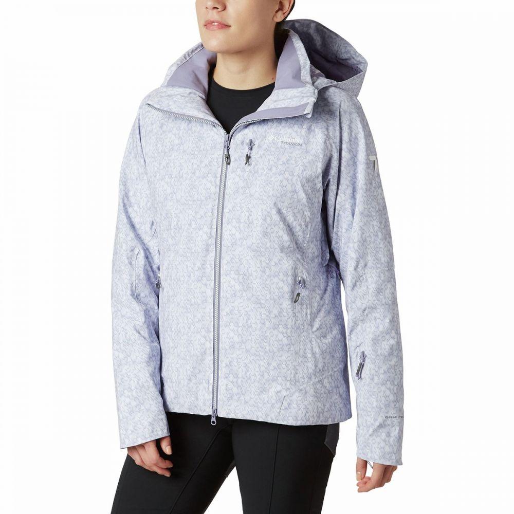 コロンビア Columbia レディース スキー・スノーボード ジャケット アウター【titanium snow rival ii insulated jacket】Dusty Iris Print