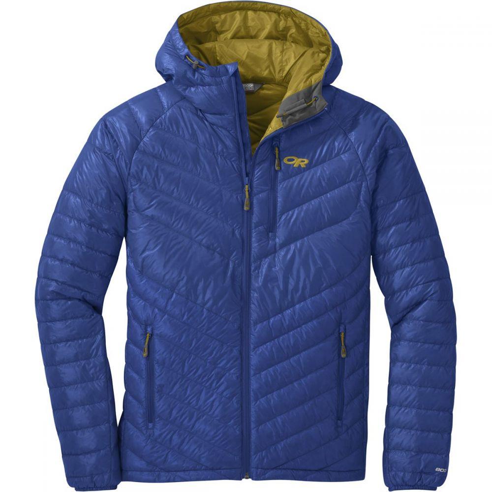 アウトドアリサーチ Outdoor Research メンズ ダウン・中綿ジャケット アウター【illuminate down hooded jacket】Sapphire