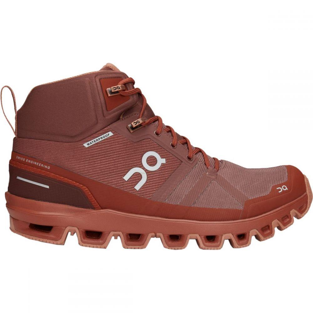 オン ON Running レディース ハイキング・登山 ブーツ シューズ・靴【cloudrock hiking boot】Grape/Hazel