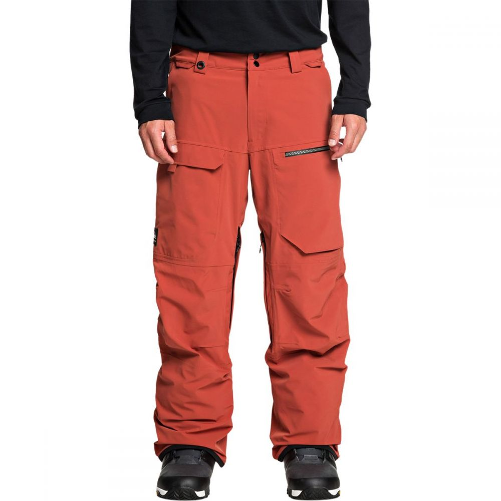 クイックシルバー Quiksilver メンズ スキー・スノーボード ボトムス・パンツ【travis rice stretch pant】Barn Red