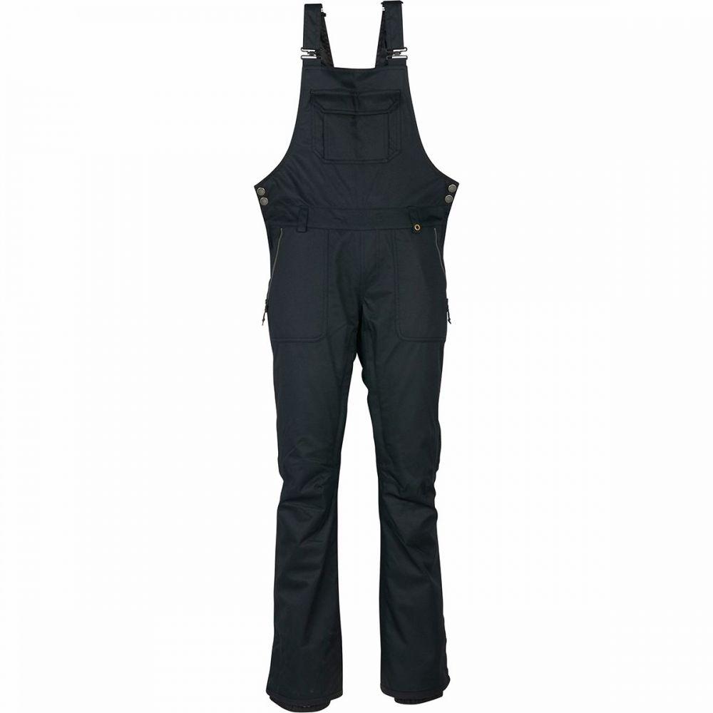 シックス エイト シックス 686 レディース スキー・スノーボード ビブパンツ ボトムス・パンツ【black magic insulated bib pant】Black Dobby
