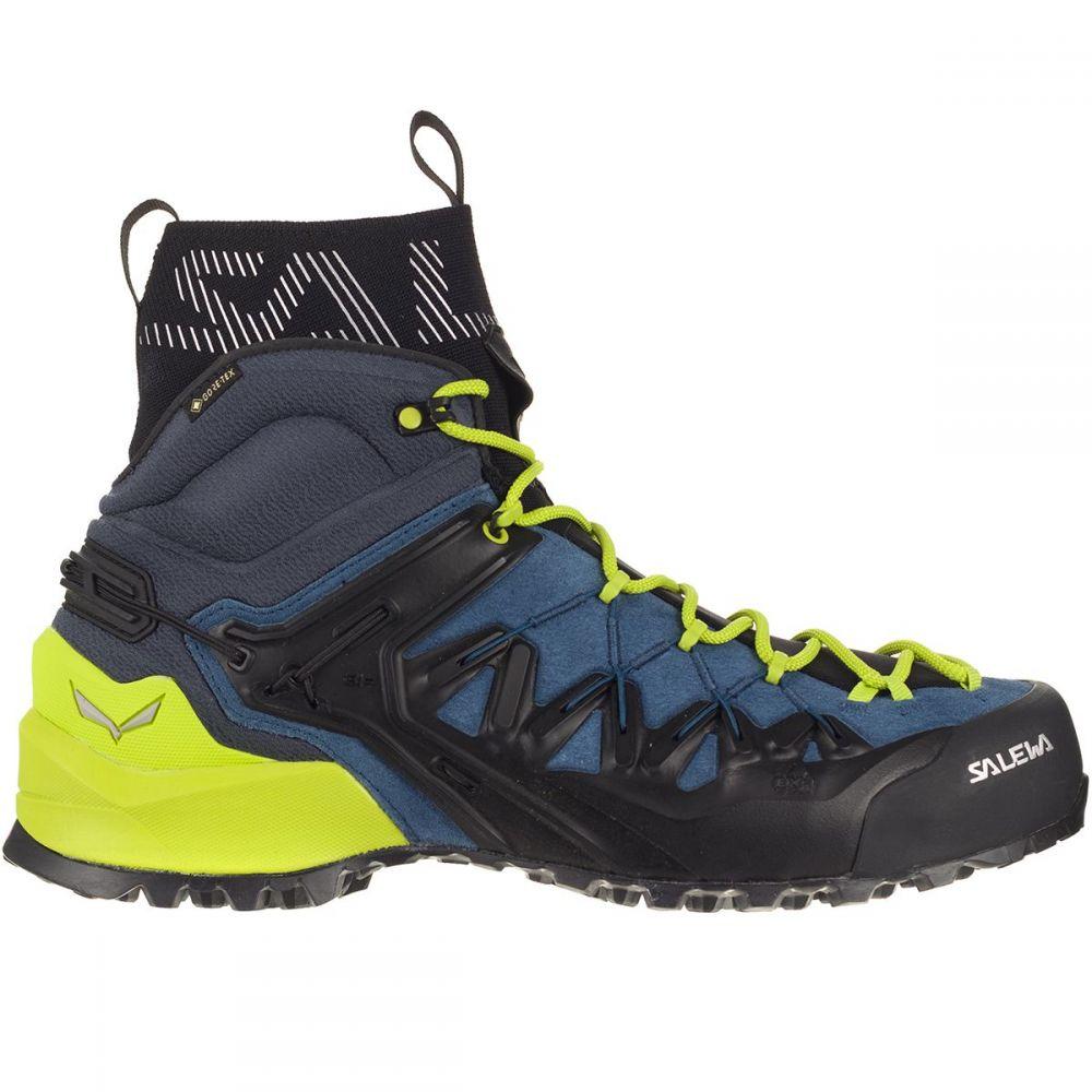 サレワ Salewa メンズ ハイキング・登山 ブーツ シューズ・靴【wildfire edge gtx mid hiking boot】Poseidon/Cactus