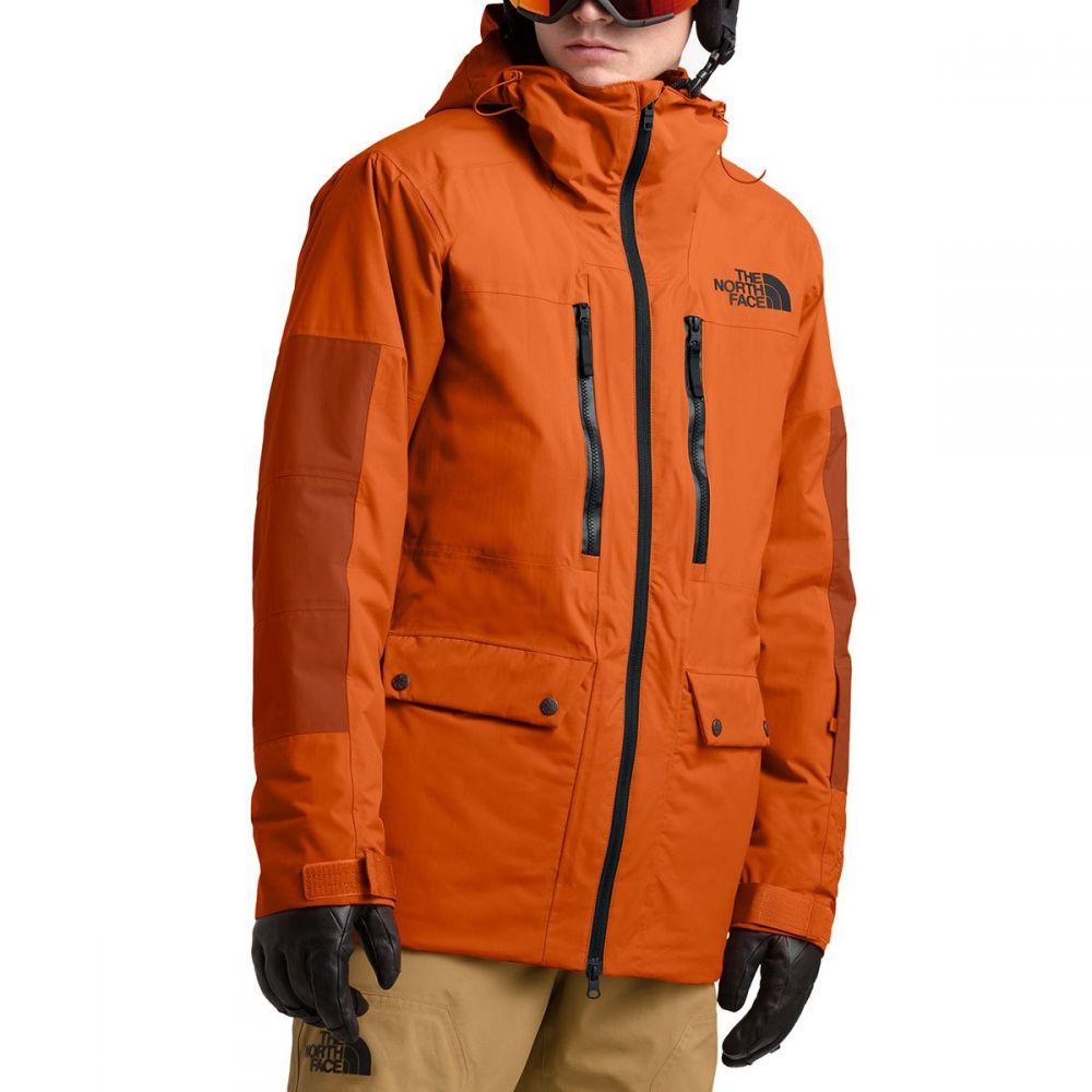ザ ノースフェイス The North Face メンズ スキー・スノーボード コート アウター【goldmill parka】Papaya Orange/Picante Red