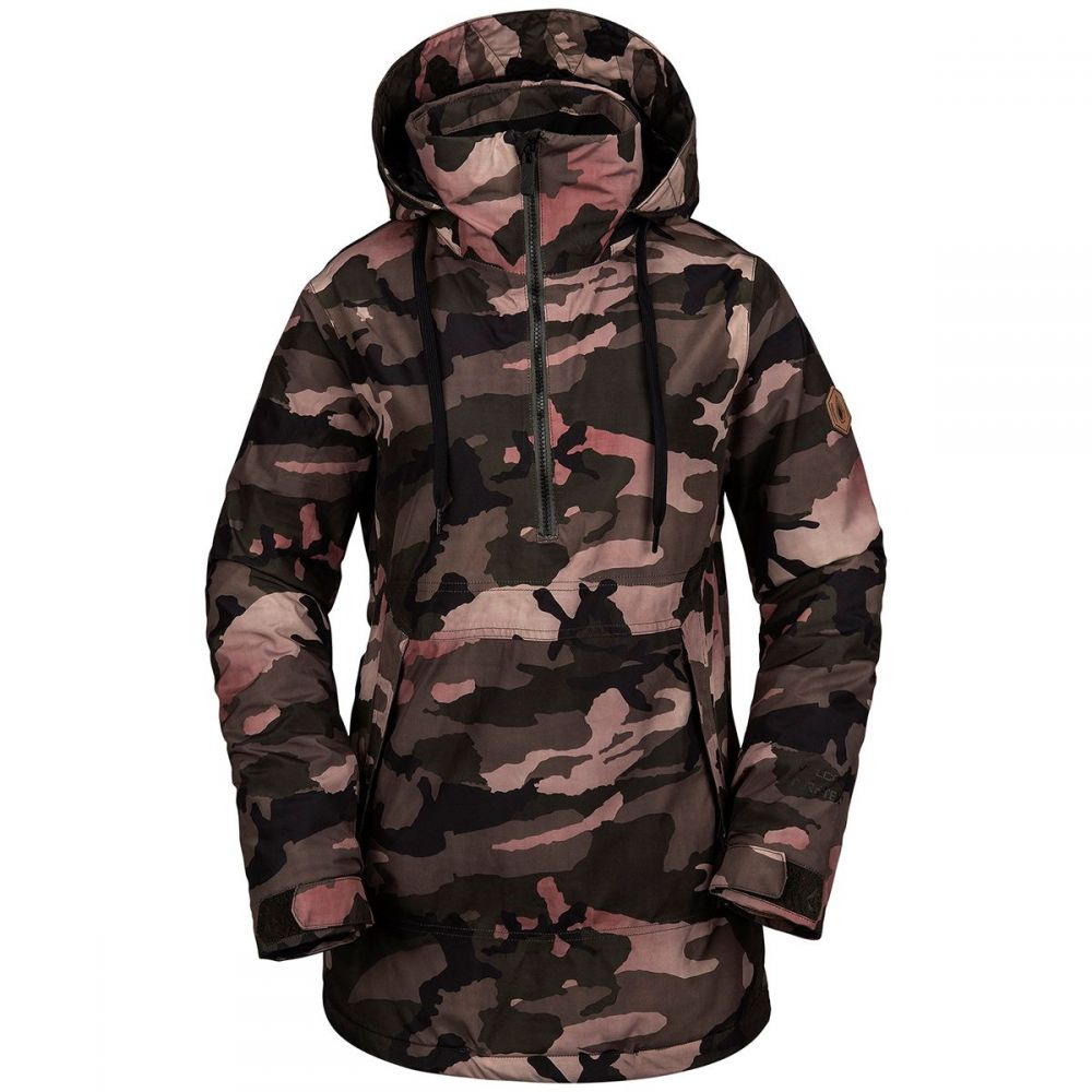 ボルコム Volcom レディース スキー・スノーボード ジャケット アウター【fern insulated gore pullover jacket】Faded Army