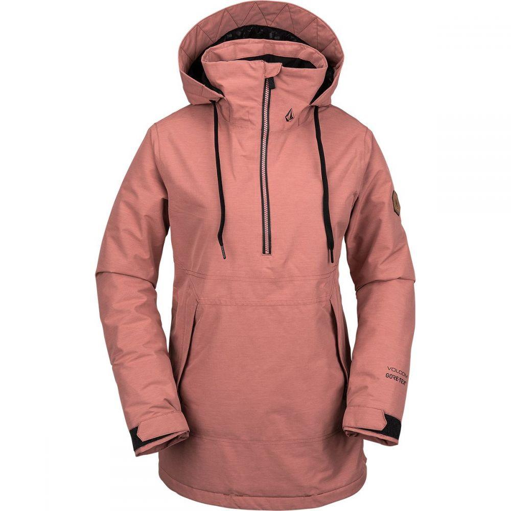 ボルコム Volcom レディース スキー・スノーボード ジャケット アウター【fern insulated gore pullover jacket】Mauve