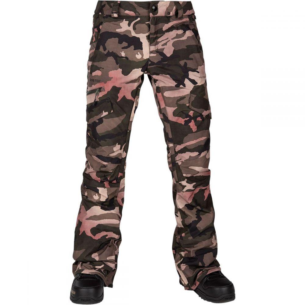 ボルコム Volcom レディース スキー・スノーボード ボトムス・パンツ【aston gore - tex pant】Faded Army