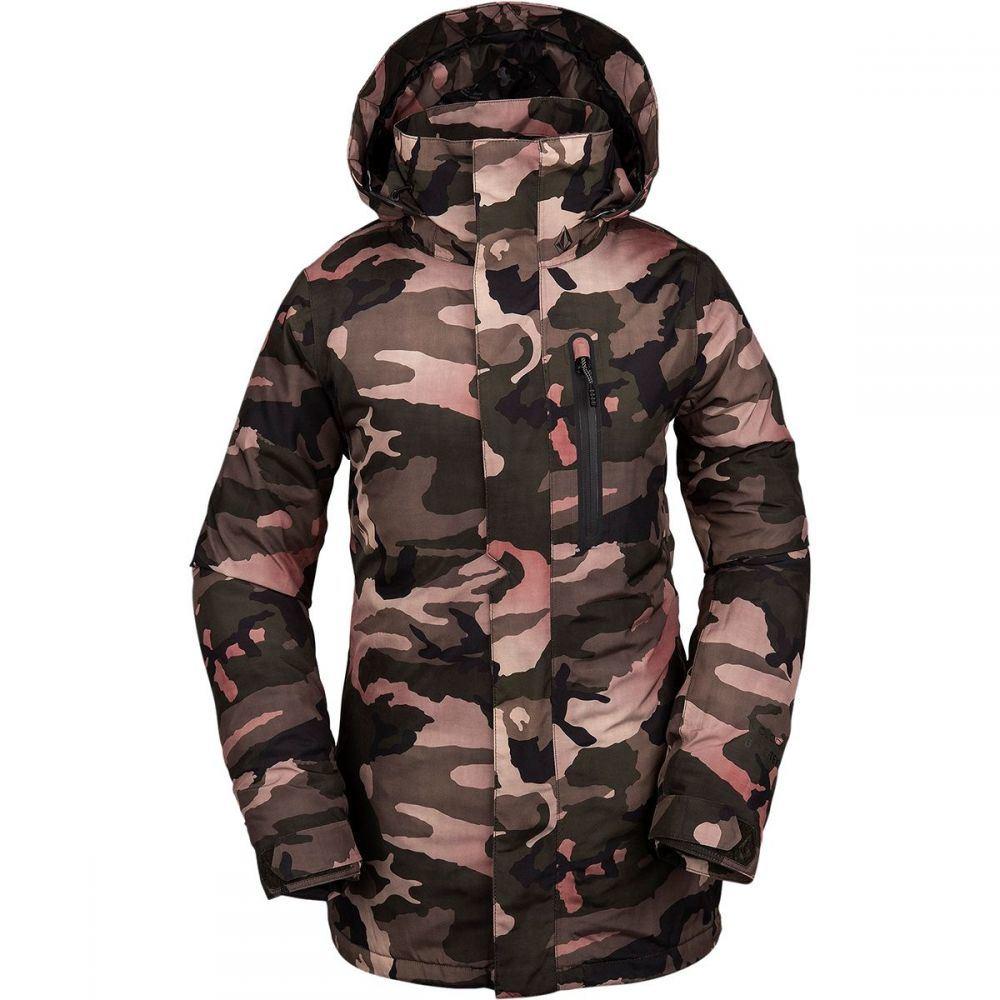 ボルコム Volcom レディース スキー・スノーボード ジャケット アウター【eva insulated gore - tex jacket】Faded Army