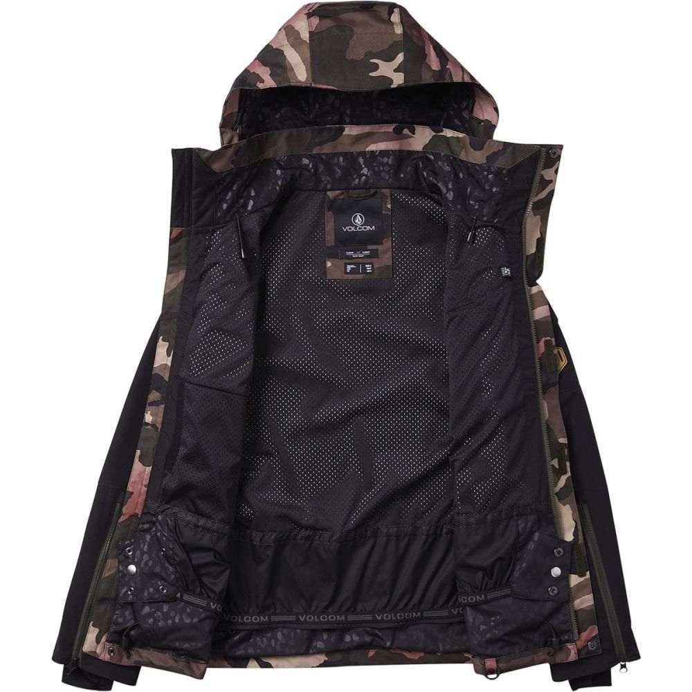ボルコム Volcom レディース スキー・スノーボード ジャケット アウター【vault 3 - in - 1 jacket】Faded Army