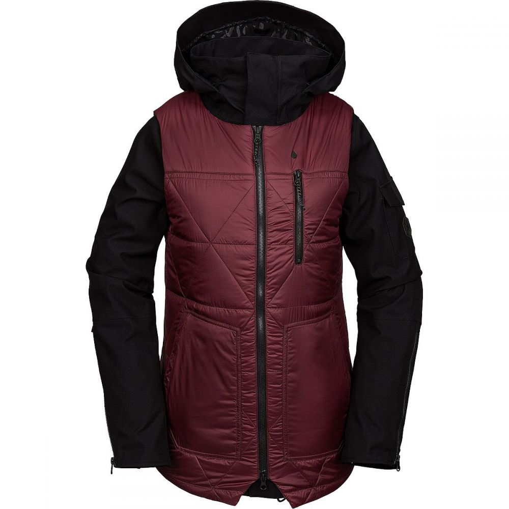 ボルコム Volcom レディース スキー・スノーボード ジャケット アウター【vault 3 - in - 1 jacket】Scarlet