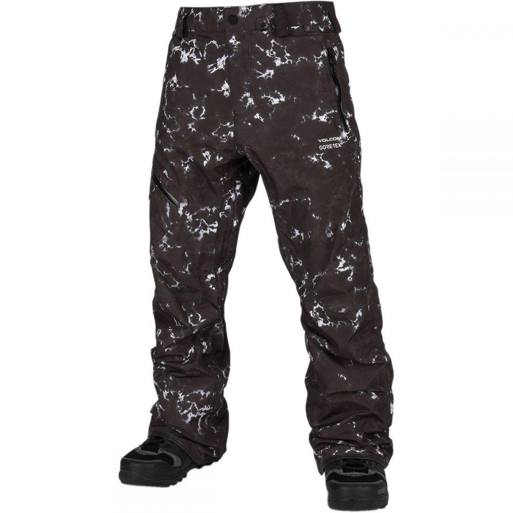 ボルコム Volcom メンズ スキー・スノーボード ボトムス・パンツ【l gore - tex pant】Black Print