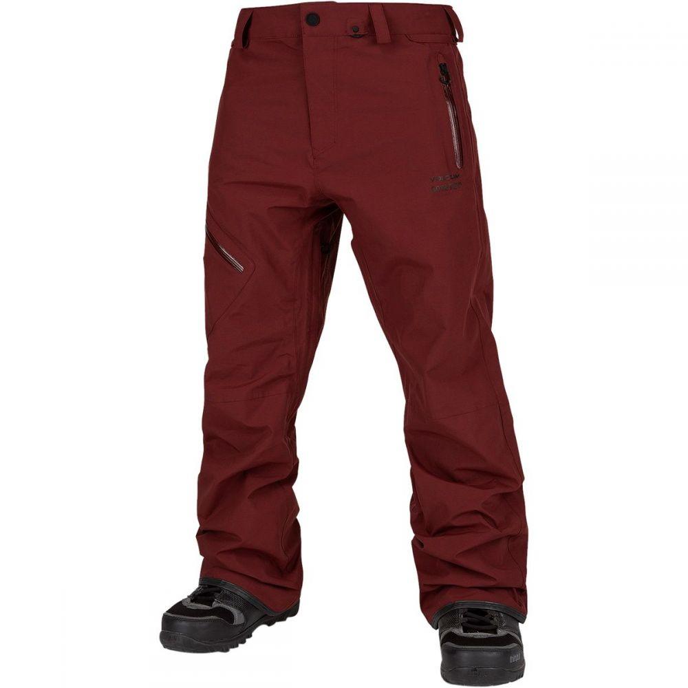 ボルコム Volcom メンズ スキー・スノーボード ボトムス・パンツ【l gore - tex pant】Burnt Red