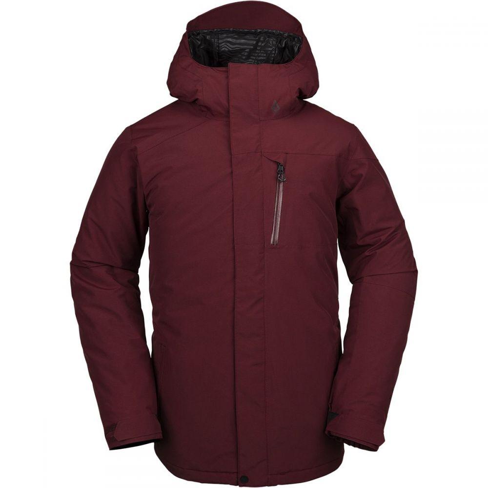 ボルコム Volcom メンズ スキー・スノーボード ジャケット アウター【l insulated gore - tex hooded jacket】Burnt Red