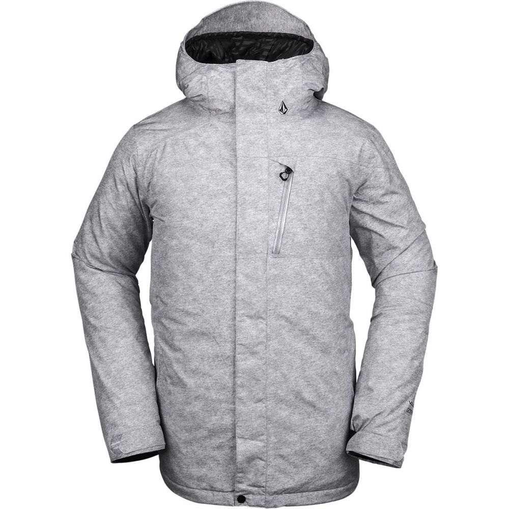 ボルコム Volcom メンズ スキー・スノーボード ジャケット アウター【l insulated gore - tex hooded jacket】Heather Grey
