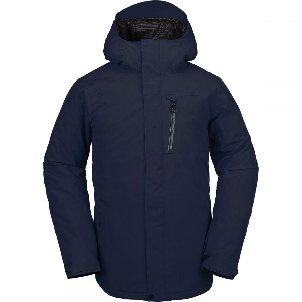 ボルコム Volcom メンズ スキー・スノーボード ジャケット アウター【l insulated gore - tex hooded jacket】Navy