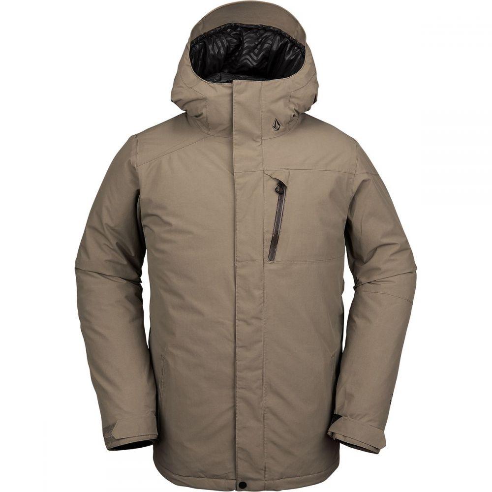 ボルコム Volcom メンズ スキー・スノーボード ジャケット アウター【l insulated gore - tex hooded jacket】Teak
