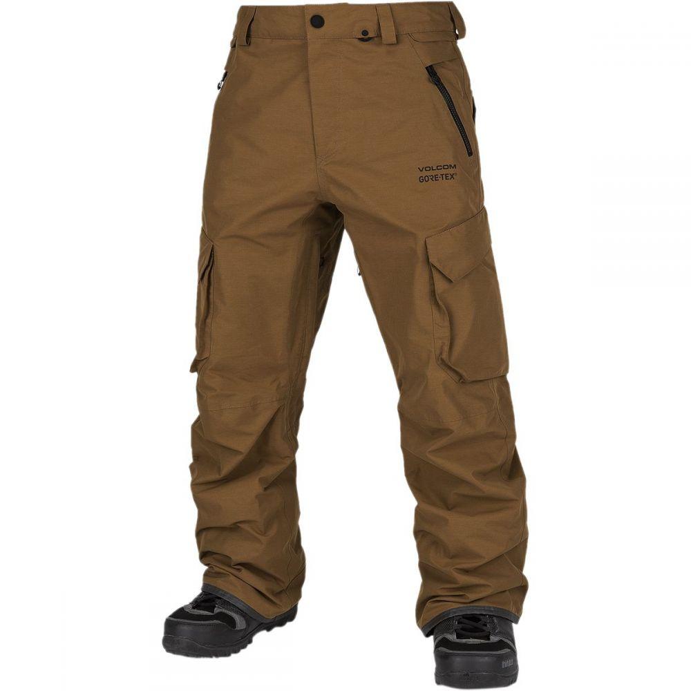 ボルコム Volcom メンズ スキー・スノーボード ボトムス・パンツ【lo gore - tex pant】Caramel
