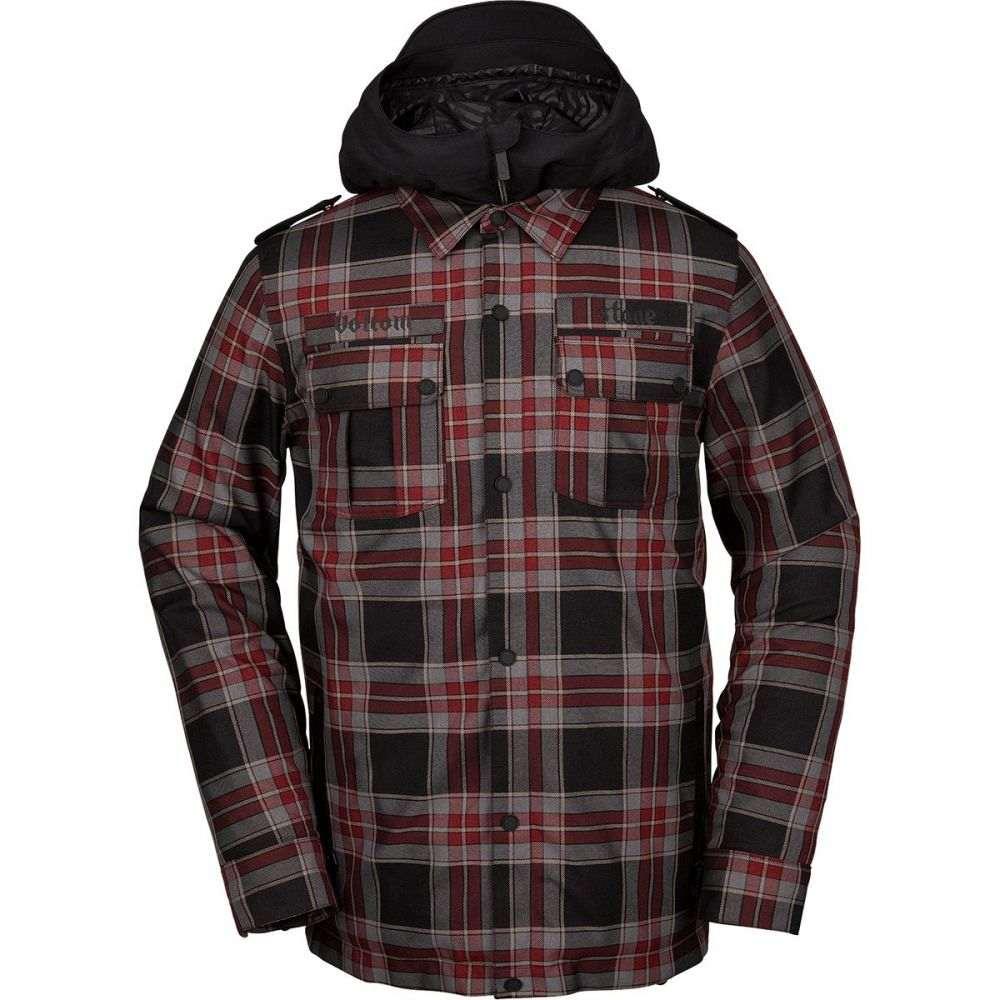 ボルコム Volcom メンズ スキー・スノーボード ジャケット アウター【creedle2stone jacket】Red