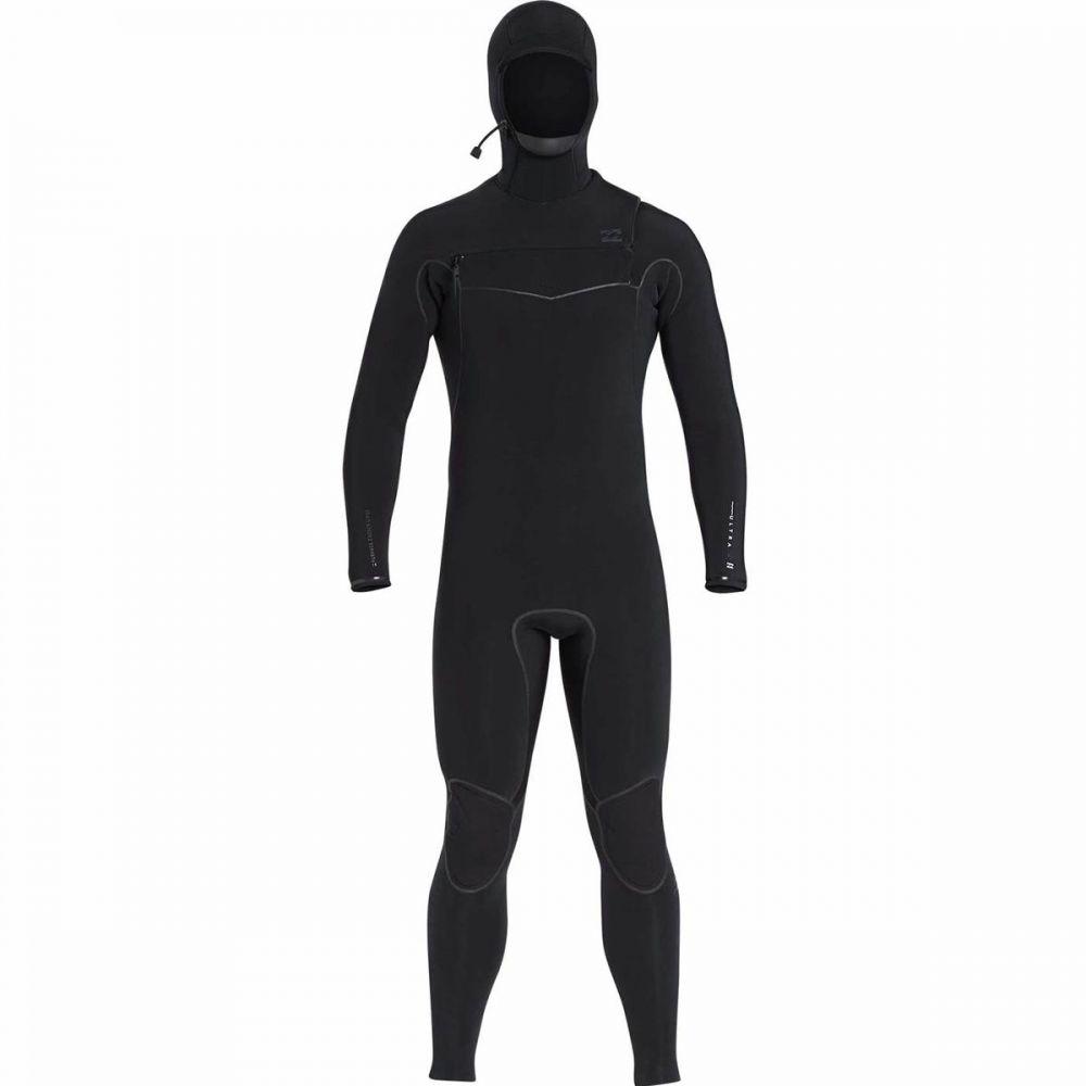 ビラボン Billabong メンズ ウェットスーツ 水着・ビーチウェア【5/4 furnace ultra hooded chest - zip wetsuit】Black