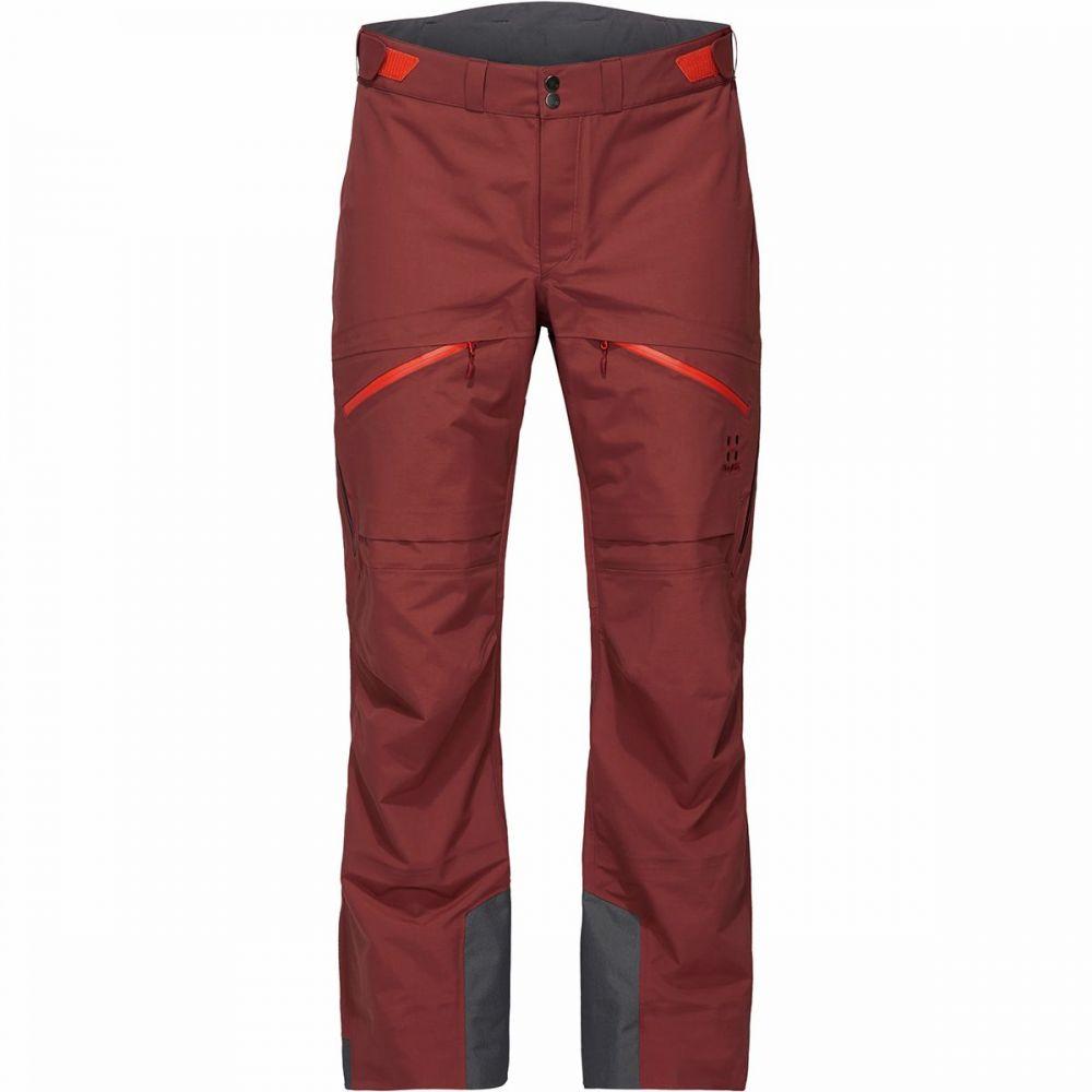 ホグロフス Haglofs メンズ スキー・スノーボード ボトムス・パンツ【nengal 3l proof pant】Maroon Red/Habanero