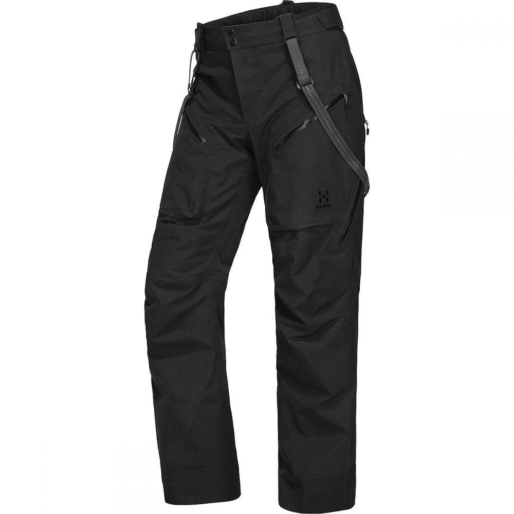 ホグロフス Haglofs メンズ スキー・スノーボード ボトムス・パンツ【chute pant】True Black Solid