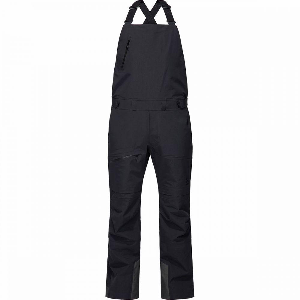 ホグロフス Haglofs メンズ スキー・スノーボード ビブパンツ ボトムス・パンツ【nengal 3l proof bib pant】True Black