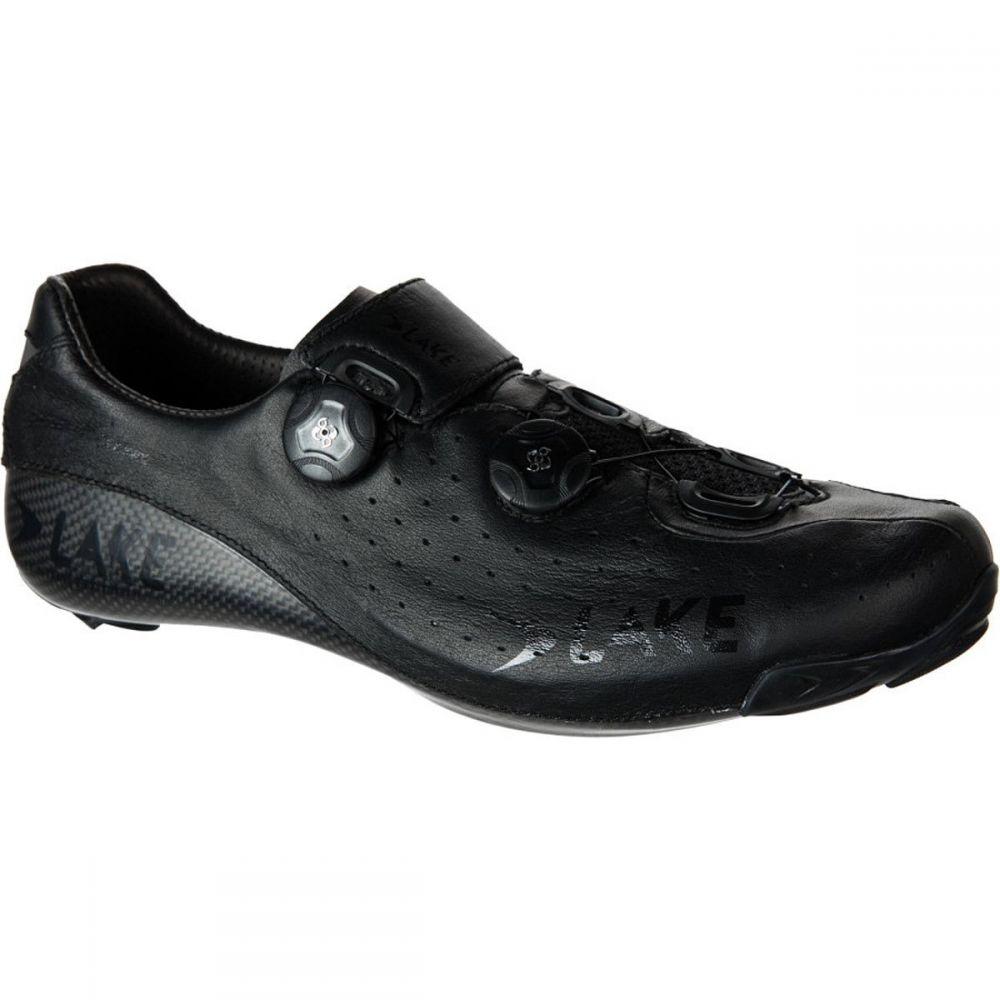 レイク Lake メンズ 自転車 シューズ・靴【cx402 wide cycling shoe】Black/Black